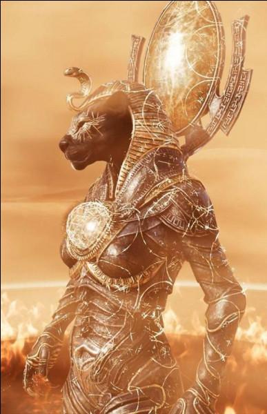 Dangereuse déesse guerrière et destructrice des hommes. Qui est-elle ?