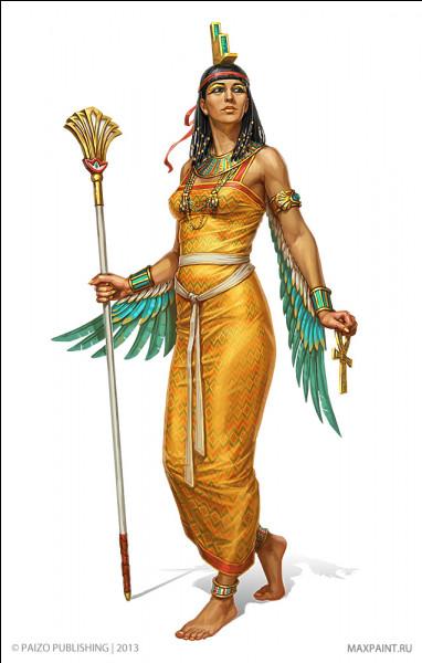 """Grande magicienne, son nom égyptien signifie """"le siège"""". Qui est cette déesse ?"""
