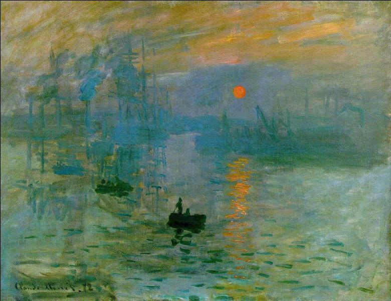 Claude Monet est un des fondateurs de l'impressionnisme.