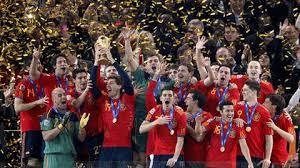 L'Espagne durant la Coupe du monde 2010