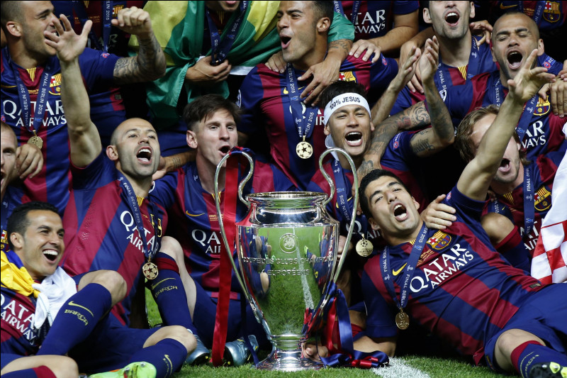 En quelle année le FC Barcelone a-t-il remporté sa dernière Ligue des champions ?