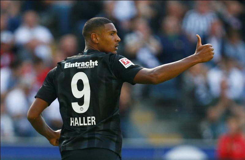 Dans quel club joue actuellement Sébastien Haller ? (mai 2020)