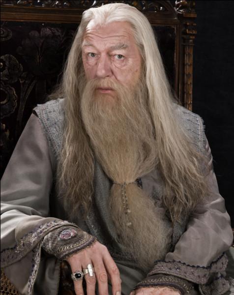 Le directeur de Poudlard se nomme : ... Dumbledore.