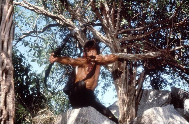 Il est John Rambo dans ce film