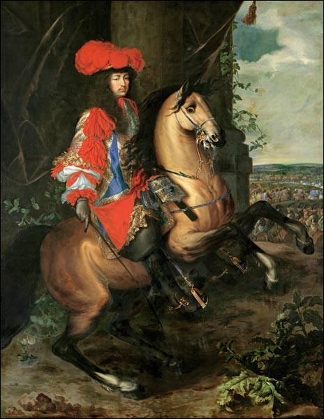 """De qui est le tableau ''Louis XIV"""" ?"""