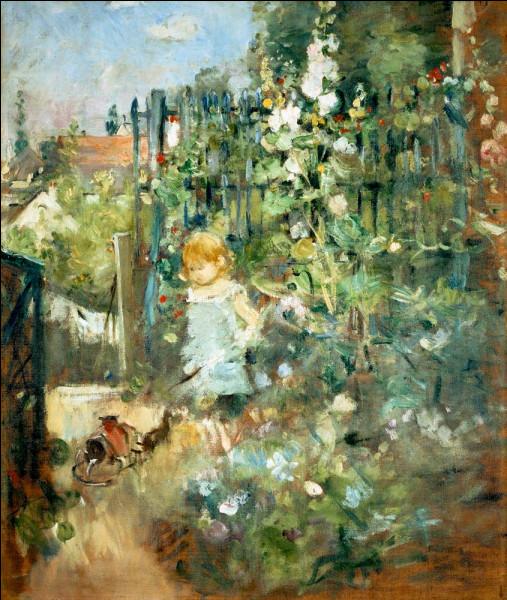 """De qui est le tableau ''Jeune Fille au jardin"""" ?"""
