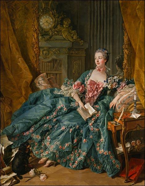 """De qui est le tableau ''Madame de Pompadour"""" ?"""