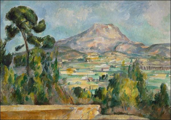 """De qui est le tableau ''Montagne de la Ste Victoire"""" ?"""