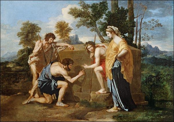 """De qui est le tableau ''Les Bergers d'Arcadie"""" ?"""