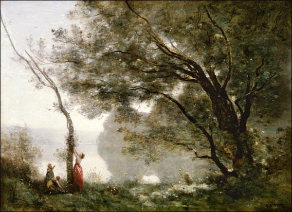 """De qui est le tableau ''Souvenirs de Mortefontaine"""" ?"""