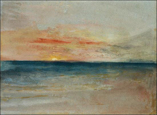 """De qui est le tableau ''Sunset"""" ?"""
