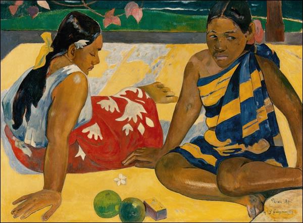 "De qui est le tableau ''2 Femmes de Tahiti"" ?"