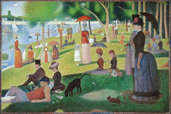 """De qui est le tableau ''Un après-midi à la grande Jatte"""" ?"""
