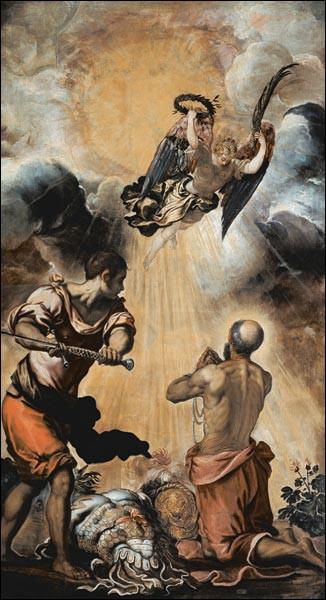 """De qui est le tableau ''L'Exécution de St Paul"""" ?"""