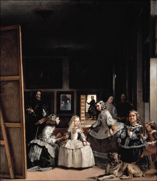 """De qui est le tableau ''Les Menines"""" ?"""
