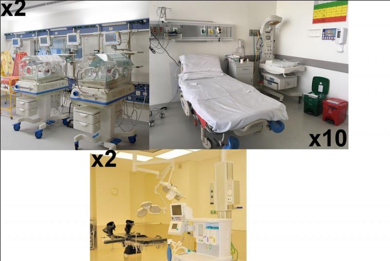 Dans le service de maternité, il y a dix lits d'accouchements et d'hospitalisations, deux salles avec 6 couveuses pour les cas les plus graves et deux blocs afin d'effectuer...