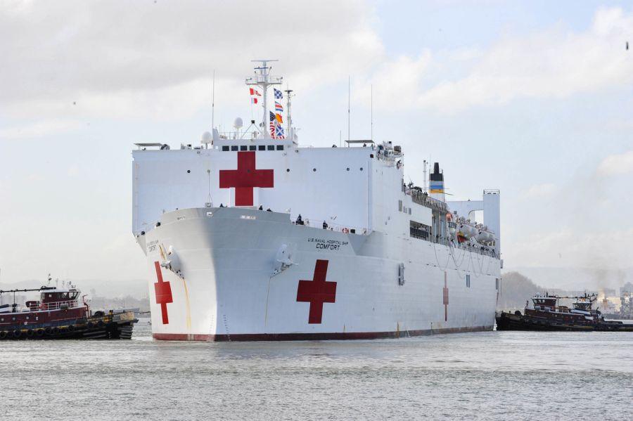 Découvre mon navire hôpital !
