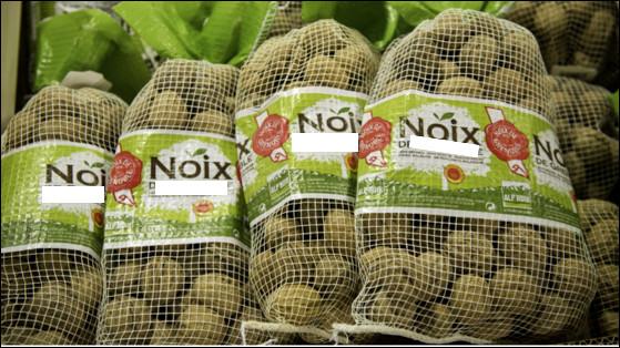 Quelle ville française est réputée pour sa production de noix (AOC depuis 1938) ?