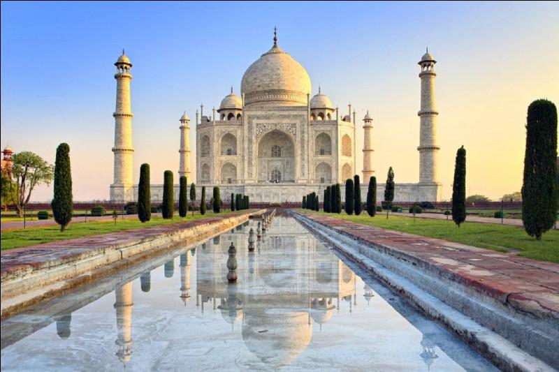 Dans quel pays peut-on admirer le Taj Mahal ?