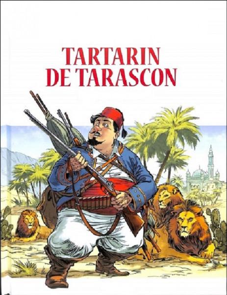 Qui est l'auteur de Tartarin de Tarascon ?
