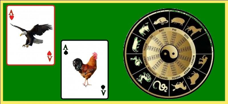 Quel est le seul oiseau du Zodiaque chinois ?
