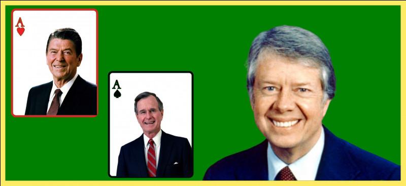 Quel président américain a succédé à Jimmy Carter ?