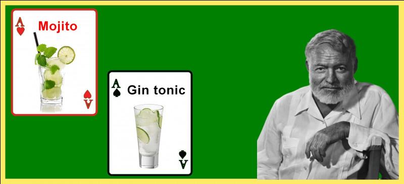 Quel cocktail Ernest Hemingway était-il connu pour apprécier tout particulièrement ?
