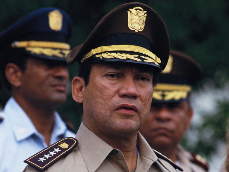 """Surnommé au Panama """"Face d'ananas"""", quel ex-militaire et chef d'État panaméen a été condamné en France pour blanchiment d'argent issu de la drogue ?"""