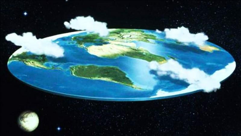 La Terre est plate :