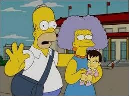 Sur le dossier, Selma marque qu'elle est mariée avec Moe.