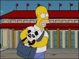 Quel métier Homer dit-il faire ?
