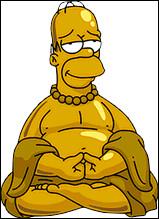 En quoi déguisent-ils Homer pour récupérer l'enfant ?
