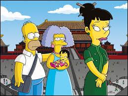 Les Simpson en Chine