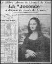 Quel poète français a été emprisonné à tort en 1911, parce qu'on le soupçonnait d'avoir participé au vol du célèbre tableau de la Joconde de Léonard de Vinci ?