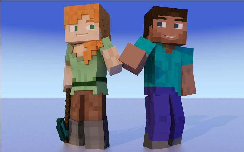 Comment s'appellent les skins Minecraft de base ?