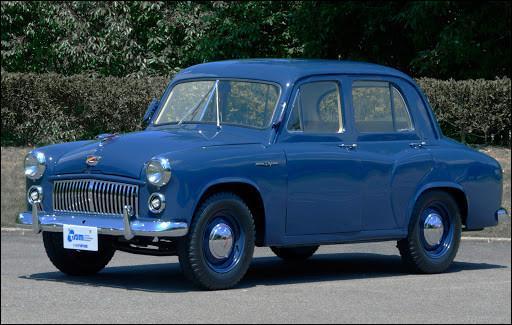 Dans les années 1950, les voitures japonaises n'ont pas encore conquis le monde. Mais ce n'est pas pour ça qu'elles n'existent pas encore. Quelle est cette voiture ?