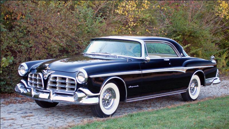 Comme nous l'avions dit précédemment, il n'y a pas que Cadillac pour produire du grand luxe aux USA. Ce coupé (et son homologue berline) introduit un nouveau label sur le marché. Lequel ?