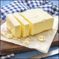 Le beurre est fait à partir de...
