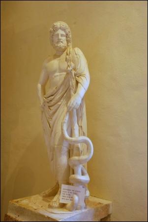 Une épidémie ravagea Rome en 293 avant j. -C . Dans quel endroit une délégation fut-elle envoyée pour recueillir les conseils de célèbres médecins afin de mieux la combattre ?