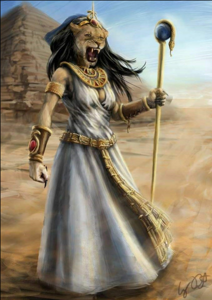 Quelle est cette déesse égyptienne provoquant la chaleur et les épidémies meurtrières ?