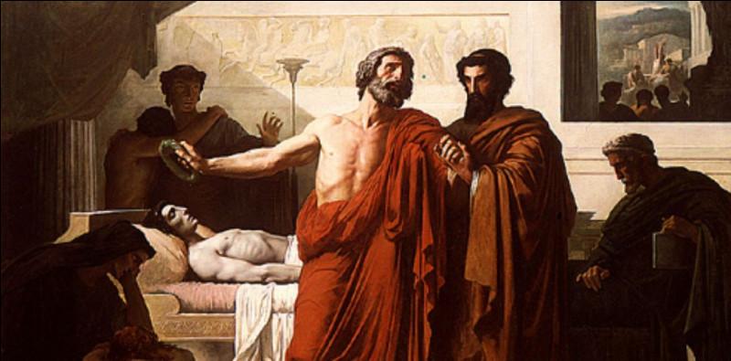 Ce grand stratège succombera à l'épidémie de peste qui ravagea Athènes au Ve siècle av. J. -C. Qui est-il ?