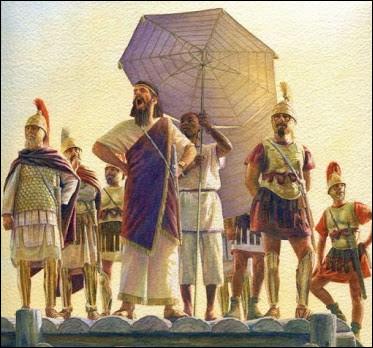 Dans cette armée qui assiégea Syracuse en 396 av. J. -C, se manifesta une épidémie destructrice, provocant d'énormes pertes les obligeant à lever le siège. Qui sont-ils ?