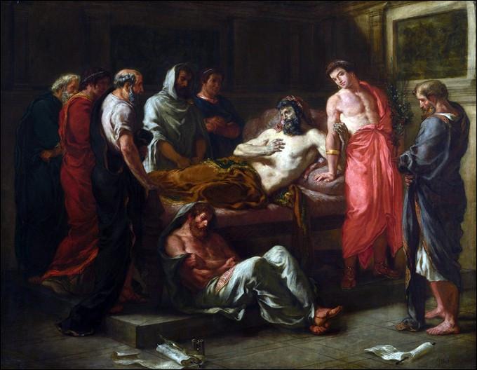 """Qui est cet empereur philosophe romain mourant de la peste """"antonine"""" en 180 après J.-C ?"""