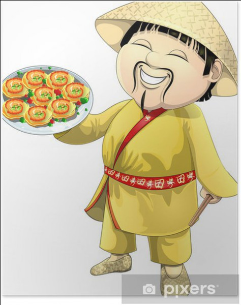 Ici on mange japonais, je suis votre humble serviteur ! Goûtez mes sushis !