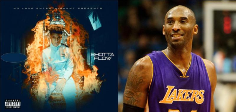 "À qui doit-on les lyrics ""Feelin' like I'm Kobe"", issus du titre ""Shotta Flow"" ?"