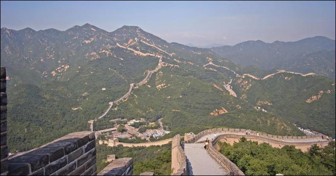 Quelle est la longueur totale de la Grande Muraille de Chine (selon l'Administration Nationale du Patrimoine Culturel) ?