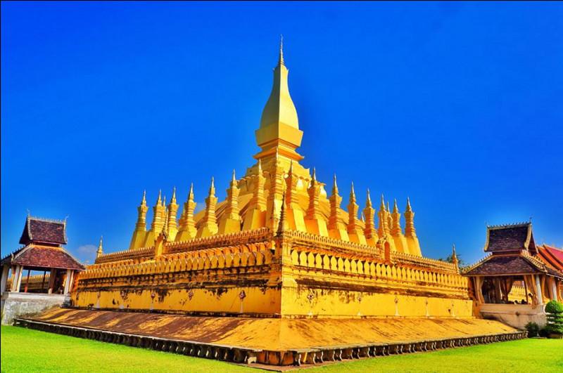 Sur quoi n'est pas figuré le Pha That Luang ?