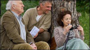 """Quelle est sa dernière partenaire à l'écran pour le film Belge """"Le Goût des myrtilles"""" ?"""