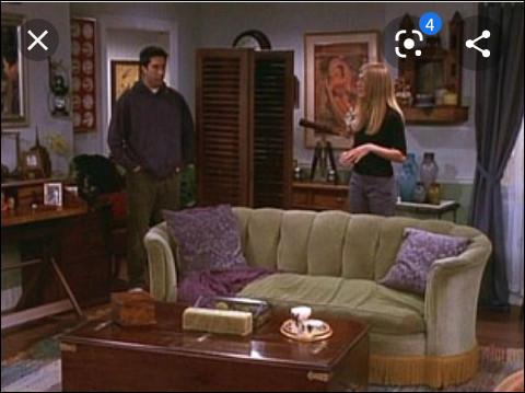 Qu'est-ce qui a brûlé dans l'appartement de Phoebe ?