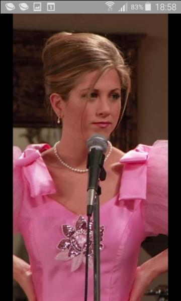 Quelle chanson chante Rachel pendant le mariage de Barry et Mindy ?